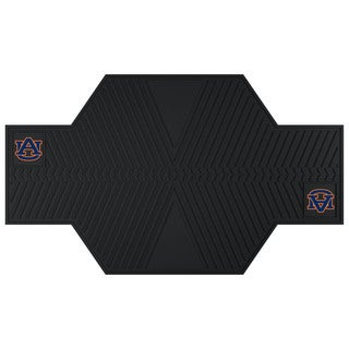 Fanmats Auburn Tigers Black Rubber Motorcycle Mat