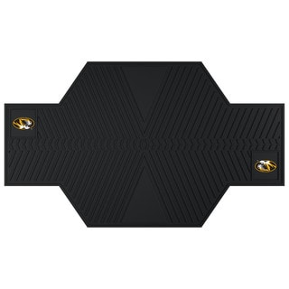 Fanmats Missouri Tigers Black Rubber Motorcycle Mat