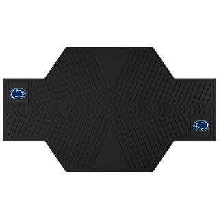 Fanmats Penn State Nittany Lions Black Rubber Motorcycle Mat
