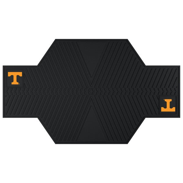 Fanmats Tennessee Volunteers Black Rubber Motorcycle Mat