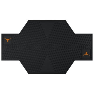 Fanmats Texas Longhorns Black Rubber Motorcycle Mat