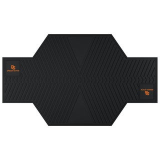 Fanmats Oregon State Beavers Black Rubber Motorcycle Mat