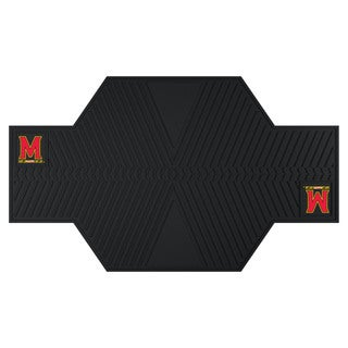 Fanmats Maryland Terrapins Black Rubber Motorcycle Mat