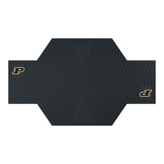Fanmats Perdue Boilermakers Black Rubber Motorcycle Mat