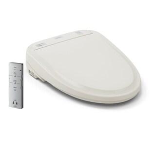 Toto Washlet® S300e Round Bidet Toilet Seat with ewater+® SW573#12 Sedona Beige