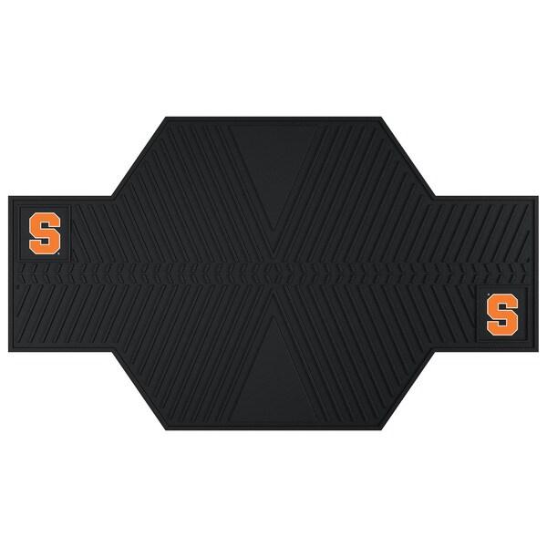 Fanmats Syracuse University Black Rubber Motorcycle Mat