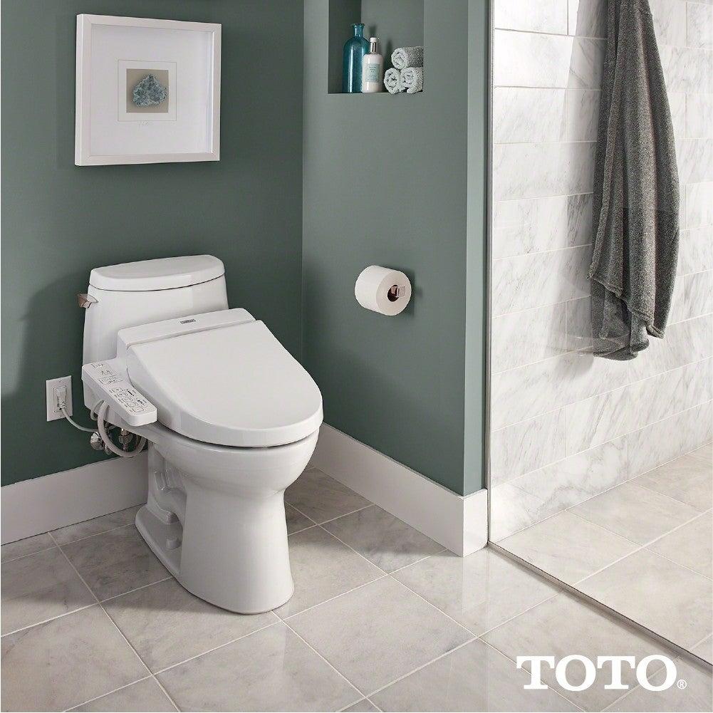 Toto C100 Elongated Washlet Seat (White)