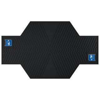 Fanmats Duke Blue Devils Black Rubber Motorcycle Mat