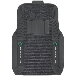 Fanmats Michigan State Spartans Vinyl Deluxe Floor Mat Set