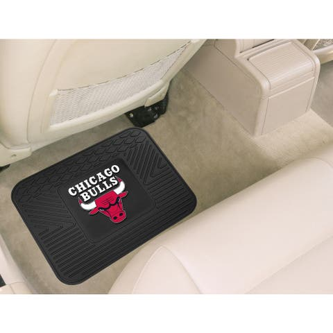 Fanmats Chicago Bulls Black Rubber Utility Mat