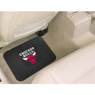 Fanmats Chicago Bulls Black Rubber Utility Mat