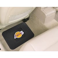 Fanmats Los Angeles Lakers Black Rubber Utility Mat