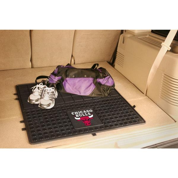 Fanmats Chicago Bulls Black Vinyl Cargo Mat