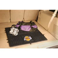 Fanmats Los Angeles Lakers Black Vinyl Cargo Mat