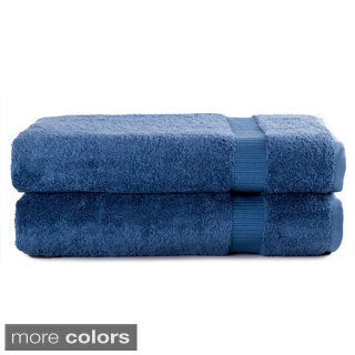 Salbakos Luxury Hotel and Spa Turkish Cotton Collection 30 x 60-inch Bath Sheet (Set of 2)