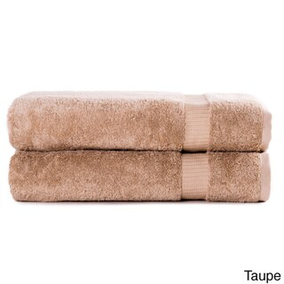 Royal Turkish Towel Luxury Hotel and Spa Turkish Cotton Collection 30 x 60-inch Bath Sheet (Set of 2)