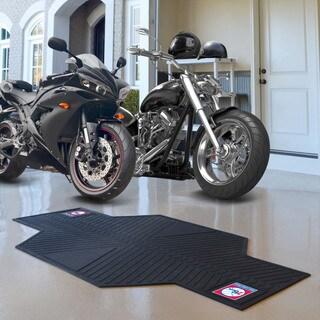 Fanmats Philadelphia 76ers Black Rubber Motorcycle Mat