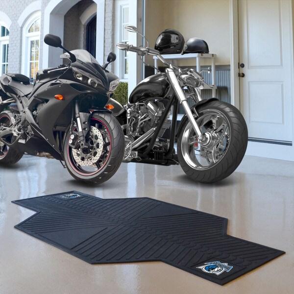 Fanmats Dallas Mavericks Black Rubber Motorcycle Mat
