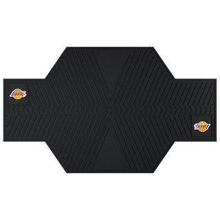 Fanmats Los Angeles Lakers Black Rubber Motorcycle Mat