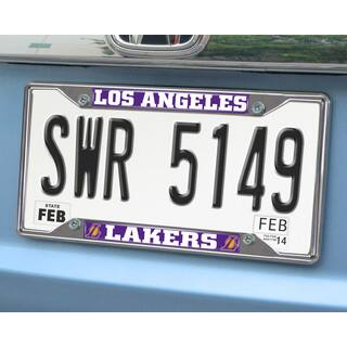 Fanmats Los Angeles Lakers Chrome License Plate Frame|https://ak1.ostkcdn.com/images/products/10248445/P17367143.jpg?impolicy=medium