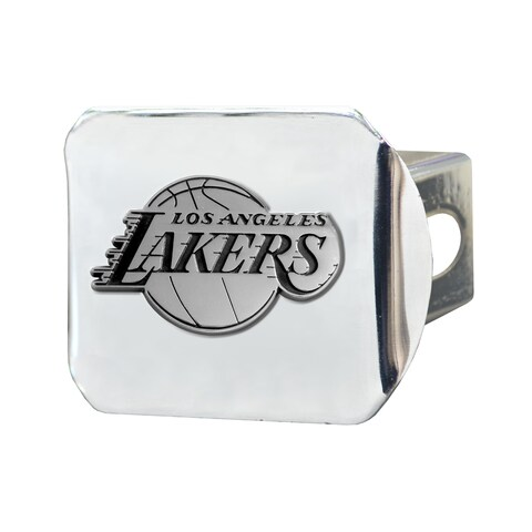 Fanmats Los Angeles Lakers Chrome Hitch Cover