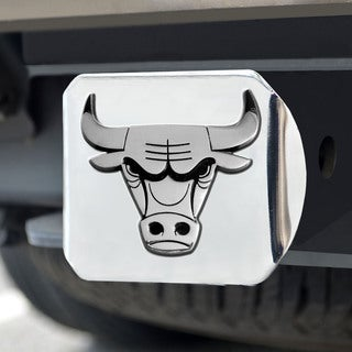 Fanmats Chicago Bulls Chrome Hitch Cover