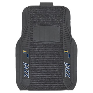 Fanmats Utah Jazz Charcoal Vinyl Deluxe Car Mat Set