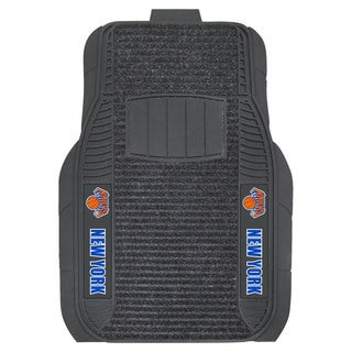 Fanmats New York Knicks Charcoal Vinyl Deluxe Car Mat Set