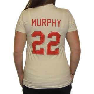 Women's Doris Murphy Rockford Peaches Jersey T-Shirt Costume