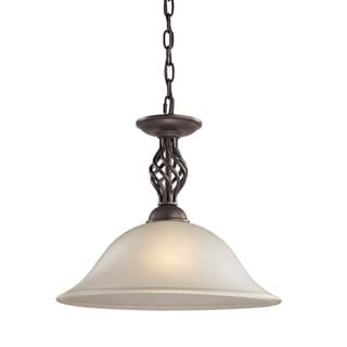 Cornerstone Santa Fe 1 Light Pendant In Oil Rubbed Bronze