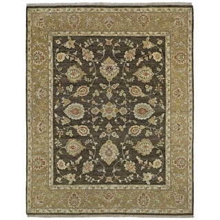"""Hand Knotted Royal Signature Charcoal Windsor Wool Rug (8'0"""" x 10'0"""")"""