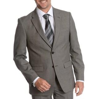 Tommy Hilfiger Men's Black/ White Trim Fit Suit Separate Two Button Blazer