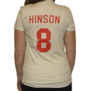 Women's Dottie Hinson Rockford Peaches Jersey T-shirt