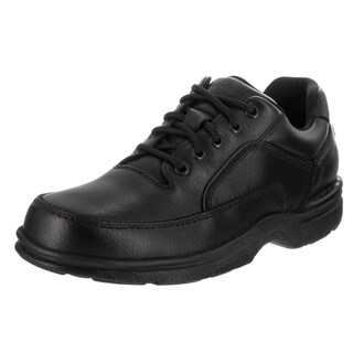 Men's Rockport Eureka Black Full Grain Leather