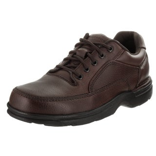 Men's Rockport Eureka Brown Full Grain Leather