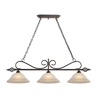 Cornerstone Santa Fe 3 Light Island In Oil Rubbed Bronze