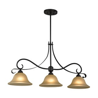 Cornerstone Brighton 3 Light Island In Oil Rubbed Bronze