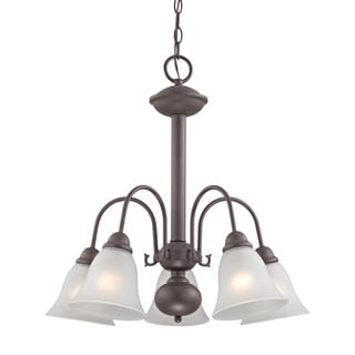 Cornerstone Bellingham 5 Light Chandelier In Oil Rubbed Bronze