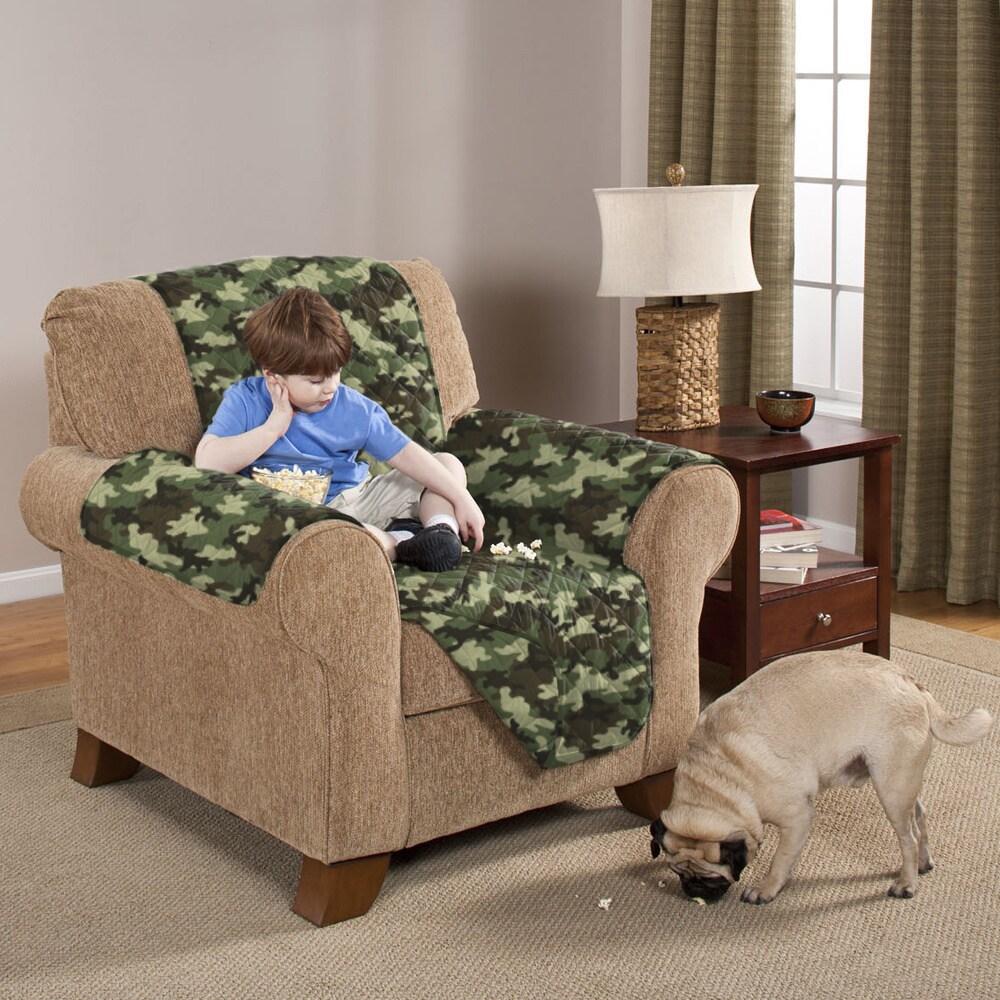 Pegasus Slumber Shop Reversible Camouflage Furniture Prot...
