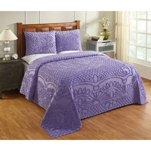 Trevor Chenille 3-piece Bedspread Set by Better Trends