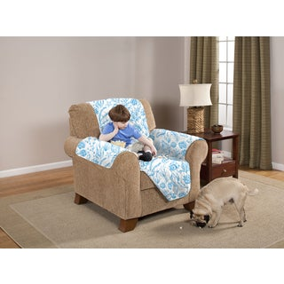 Slumber Shop Reversible and Quilted Seashell Chair Furniture Protector