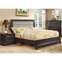 Furniture of America Stoneway Dark Grey 3-piece Bedroom Set