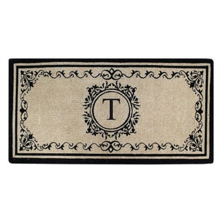 Coco Fibre Extra Thick Double Doormat-Monogrammed (2' x 4'9) (More options available)