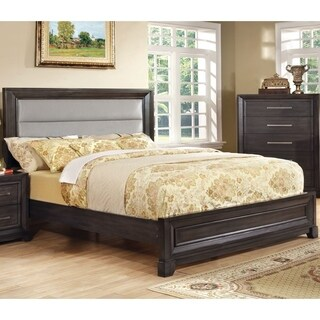 Furniture of America Stoneway Dark Grey Modern Bed