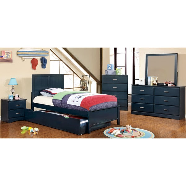 Furniture Of America Colorpop Twin Modern 5 Piece Youth Bedroom Set Free Sh