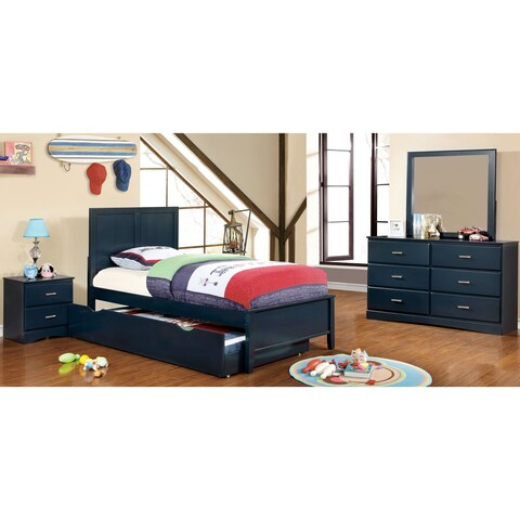Furniture of America Colorpop Twin Modern 5-Piece Youth Bedroom Set