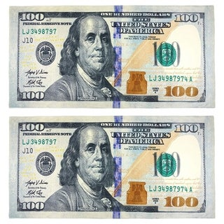 New $100 Bill Beach Towel (Set of 2)