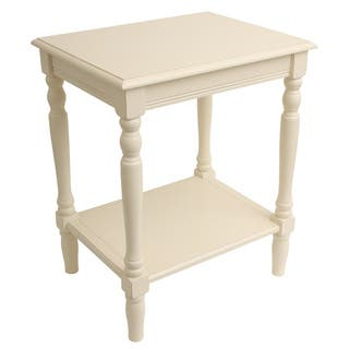 Buy french country nightstands bedside tables online at overstock decor therapy simplify white wood end table watchthetrailerfo