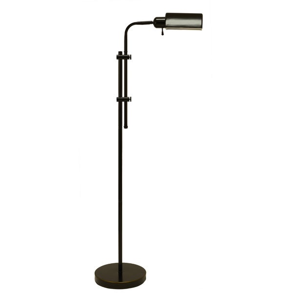 Decor Therapy Pharmacy Oil-rubbed Bronze Steel Floor Lamp