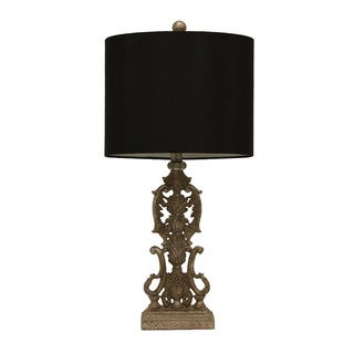 Resin Iron Gate Table Lamp